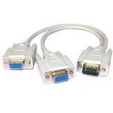 Cable Spliter Vga Para Dos Monitores (xtc-325)