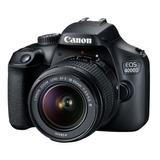 Canon Rebel 4000d Con Lente 18-55mm Iii Camara Digital Dslr