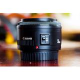 Lente Canon Ef 50mm 1.8f Prime Exc. Cond