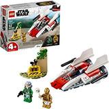 Lego 75247 Star Wars Rebel A-wing Starfighter 4+ Kit De Cons