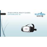 Lentes Realidad Virtual Smartphone 3d Vr Box + Control