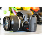 Canon Xs 1000d 6000 Disparos.
