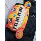 Juguete Piano En Forma De Gato Con Sonido Real
