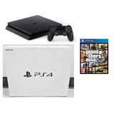 Playstation 4 Slim 1tb Nuevo Ps4 Ultima Ver. Y Gta5 Gta 5 V