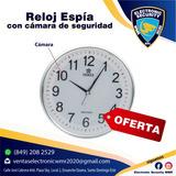 Reloj De Pared Espia Con Cámara Y Micrófono