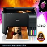 Impresora Epson L3110-l380 Multifuncional Sublimación Y Mas