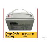 Bateria De Inversor Gelatina Nueva Con 12volt Y 100amp