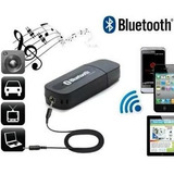 Receptor Adaptador Usb Bluetooth Inalambrico Cable Gratis.