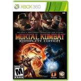 Juego Mortal Kombat 9 Para Xbox 360