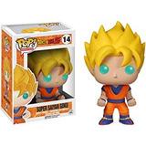 Dragon Ball Z Super Saiyan Goku Figura De Vinilo