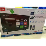 Tv Tcl Smart Wifi Roku 4k 55 Pulgadas
