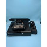 Xbox 360 Slim Con Su Control Especial Y Kinect + 1 Juego A E