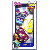 Barbie Toy Story - Falda Y Top Para 4 Muñecas