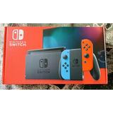 Nintendo Switch Modelo 2019 De 32gb Nuevo + 5 Juegos