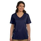 Haes Camiseta De Jersey Holgada Con Cuello En V Para Mujer X