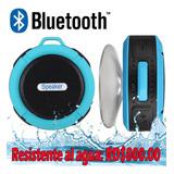 Bocina Resistente Al Agua Con Bluetooth Inalámbrico