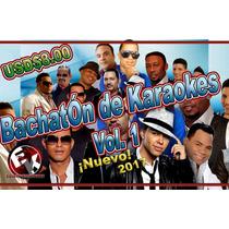 Bachatón De Karaokes Vol. 1 Cdg+mp3 Profesionales