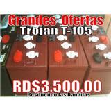 Bateria Trojan Roja 3500 Aprovecha 2 Años Garantia