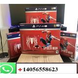 Sony Playstation 4 Pro 2tb Con 10 Juegos Gratis
