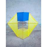 Cajón Vol.2 Amarillo Y Azul Muy Bonito Y Listo Para Volar