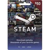 $50 Tarjeta De Regalo De Steam
