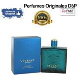 Versace Eros Cologne 6.7 Oz Para Hombres 100% Originales