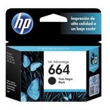 Cartucho Hp 664 Black Ink Cartridge Para Impresoras Ink
