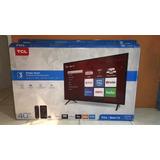 Televisor Tlc Smart Tv 40  Pulgada Roku