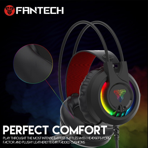 Audifonos Headphone Gaming Fantech Hg20 Noise Cancelling