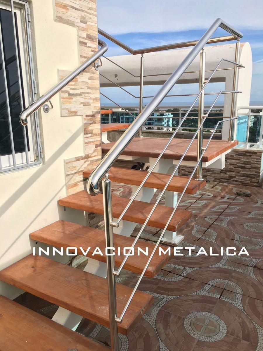 Barandas pasamanos y escaleras en acero inoxidable - Pasamanos escaleras acero inoxidable ...