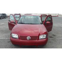 Volkswagen Jetta 2.0, 1999 Rojo