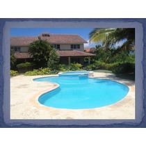 Vendo O Alquilo Villa En Juan Dolio, 3hab. Terraza, Jacuzzi