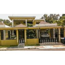 Mudate Hoy Mismo ,hermosa Casa En Venta Llanos De Gurabo Stg