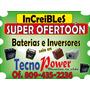Inversores 1.2 Kw + Baterias .. Instalacion Y Materiales Gas