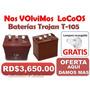 Llegaron La Bateria Trojan Roja T105 En Oferta Por Solo 3650 | RAMON CEDANO